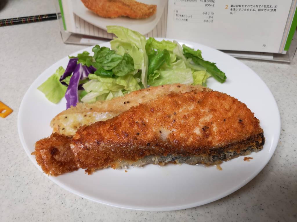 鮭フライ(アップ)