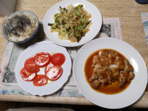 ある日の夕食