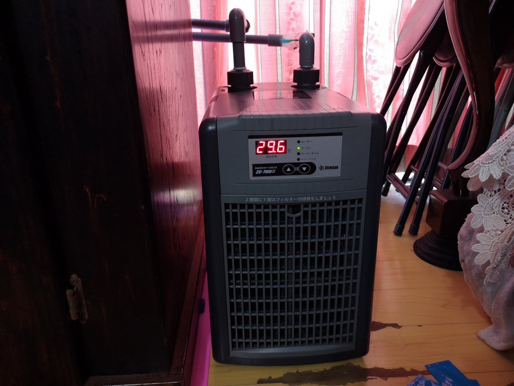 ゼンスイ ZC-700α 設置完了