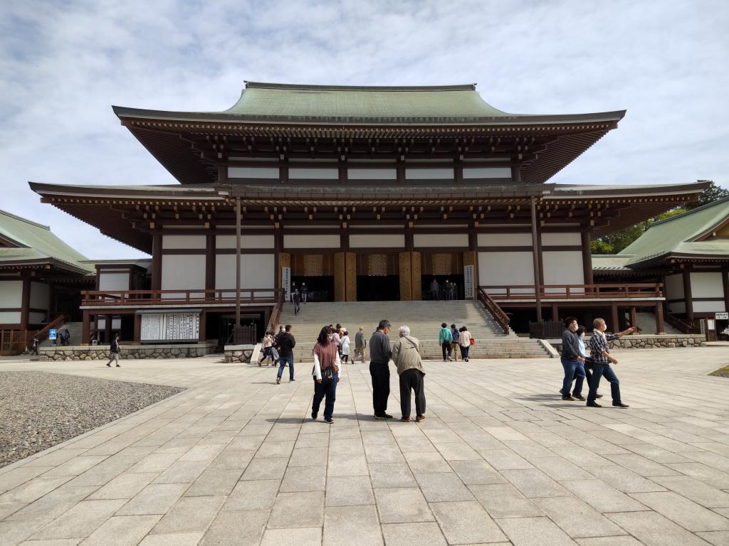 成田山新勝寺本殿(2021年5月3日)